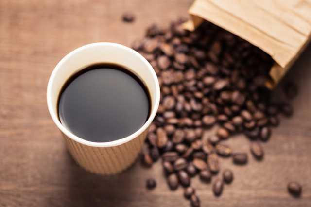 アメリカンコーヒーと豆