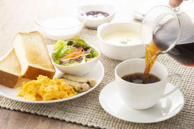 食事とコーヒー