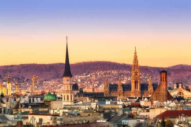 オーストリアの首都ウィーン