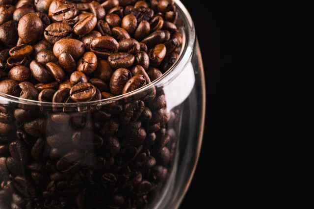 冷蔵保存のコーヒー豆