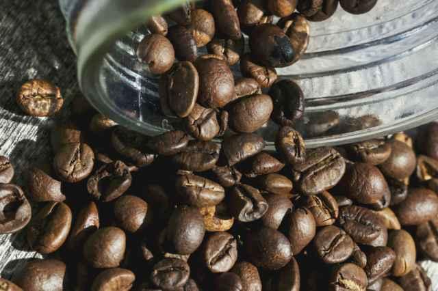 冷凍保存のコーヒー豆