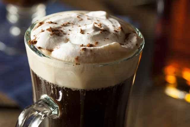アイリッシュコーヒーの生クリーム