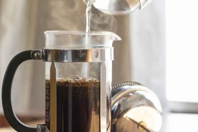 浸漬式のコーヒーの淹れ方