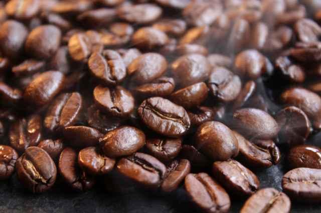 焙煎したーコーヒー豆