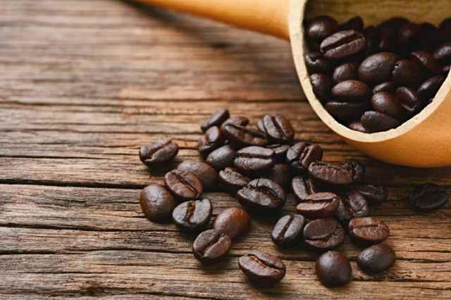 常温保存したコーヒー豆