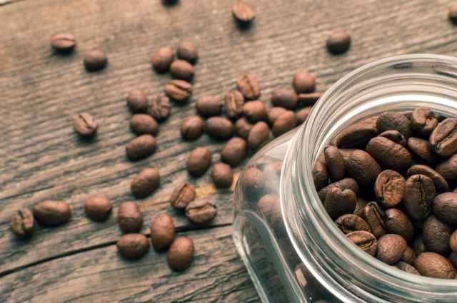 冷蔵保存したコーヒー豆