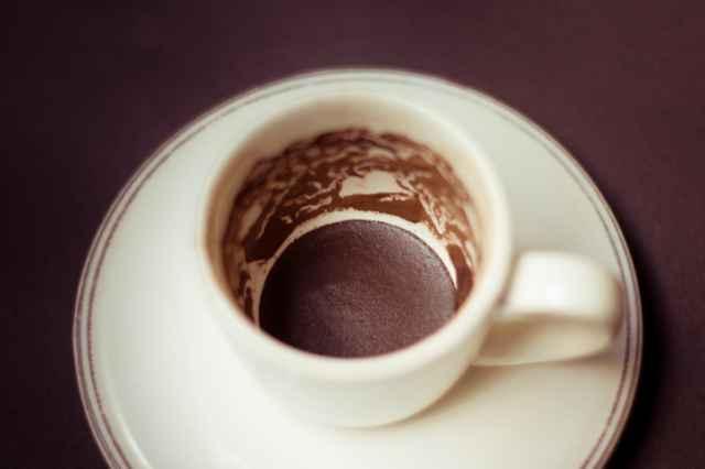 トルココーヒーの模様