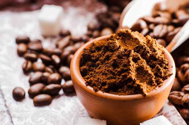 均一な大きさのコーヒー粉