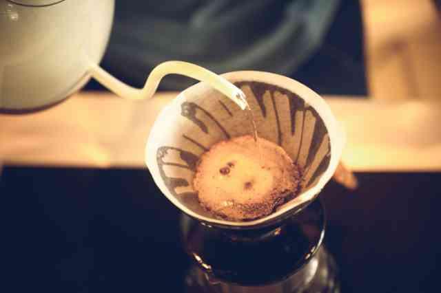ペーパーフィルターでコーヒーを淹れる