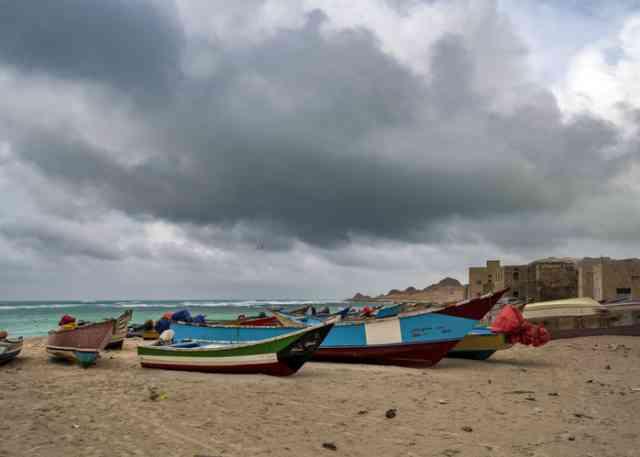 イエメンの港