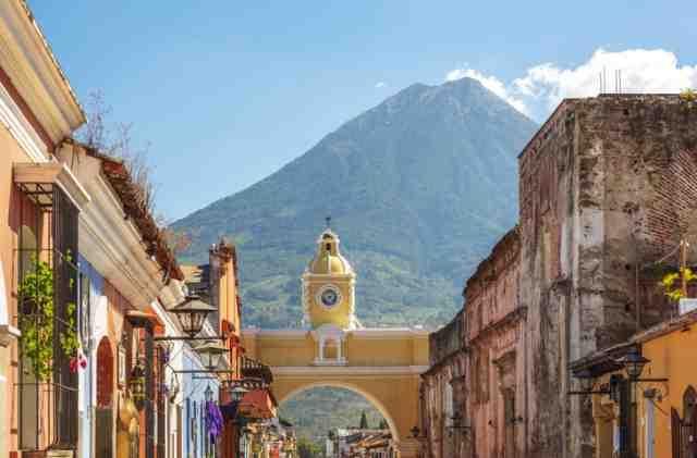 グアテマラ・アンティグア地区